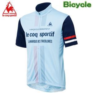 Lecoq QC-741671 ルコック 自転車用半袖シャツ サイクル半袖ジャージ サイクルウエアー メンズ サイクリングウェア サイクルジャージ 自転車用ウェアー 人気