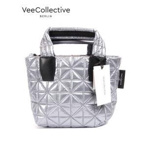 VeeCollective ヴィーコレクティヴ トートバッグ ショルダー mini 2WAY プラチナメタリック 0150-101200p-310 up-avanti