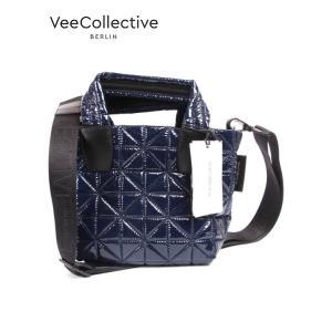 VeeCollective ヴィーコレクティヴ トートバッグ キルティング ショルダー S ミッドナイトブルー 0150-101201p-0323 up-avanti