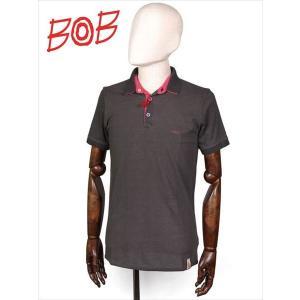 BOB COMPANY ボブカンパニー 半袖ポロシャツ リバーシブル 鹿の子 ブラック×ピンク 206-34426-072 REVERS ジャージ 国内正規品|up-avanti