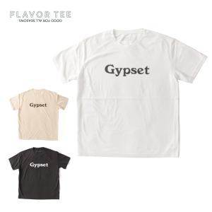 FLAVOR TEE フレーバーティー レディース GYPSET ロゴ Tシャツ YOMOGIDROP 半袖 カットソー 212FT01 国内正規品|up-avanti
