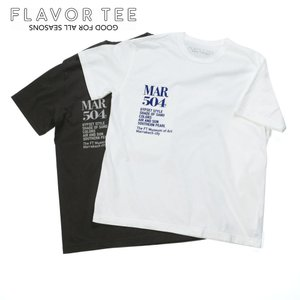FLAVOR TEE フレーバーティー レディース MAR504 GYPSET プリントTシャツ YOMOGIDROP 半袖 カットソー 213FT04 国内正規品|up-avanti