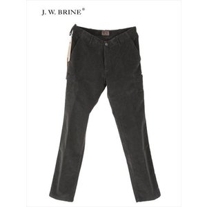 J.W.BRINE ジェイダブリューブライン コーデュロイ カーゴパンツ 215-21549 チャコールグレー 国内正規品|up-avanti