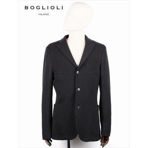 BOGLIOLI ボリオリ 3B シングルテーラード ジャケット ブラック 220-41711 イタリア製 ウール 国内正規品 up-avanti