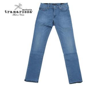 tramarossa トラマロッサ SUPER STRETCH スーパーストレッチ デニムパンツ ジーンズ 414-30071237-500 ライトブルー 国内正規品|up-avanti