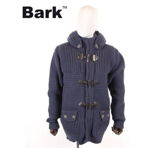 【国内正規品】BARK バーク ダッフルコート ニット 474-50401001 ネイビー up-avanti