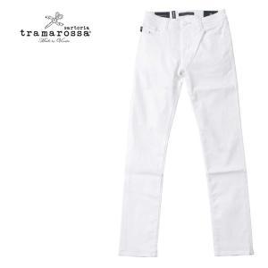 TRAMAROSSA トラマロッサ LEONARD SLIM レオナルドスリム メンズ デニム パンツ カジュアルパンツ 497-43371003 ホワイト 国内正規品|up-avanti