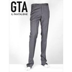 GTA ジーティーアー ウールスラックス パンツ ノータック グレー 50230 薄手 国内正規品|up-avanti