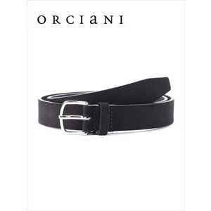 ORCIANI オルチアーニ スエードベルト 150 ブラック 519-62281002 本革 国内正規品 up-avanti
