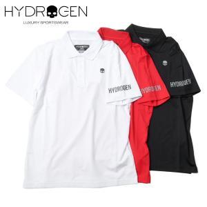HYDROGEN GOLF ハイドロゲンゴルフ メンズ ショートスリーブ ポロシャツ ストレッチ 551-40140001 国内正規品 up-avanti