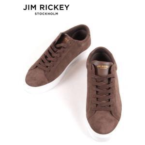 JIM RICKEY ジムリッキー CHOP スエードレザースニーカー ローカット 6171-2802 ブラウン 焦げ茶 メンズ 国内正規品|up-avanti