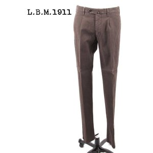 L.B.M.1911 エルビーエム1911 チノパン スラックス ストレッチ 9201384165098 ブラウン 茶系 LBM1911 国内正規品|up-avanti