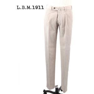 L.B.M.1911 エルビーエム1911 コーデュロイ スラックス ストレッチ 9201384165120 オフホワイト LBM1911 国内正規品|up-avanti