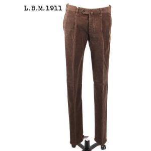 L.B.M.1911 エルビーエム1911 チノパン スラックス ストレッチ 9201384165134 ブラウン 茶系LBM1911 国内正規品|up-avanti
