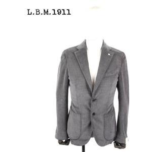 L.B.M.1911 エルビーエム1911 2Bシングル テーラードジャケット 9201A29705133-3 グレー LBM 1911 国内正規品|up-avanti