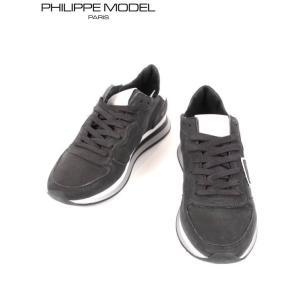 PHILIPPE MODEL フィリップモデル レザースニーカー 9215STRPXWW BLACK ブラック 国内正規品|up-avanti