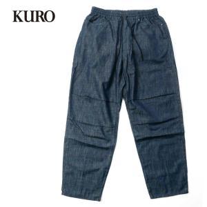 KURO クロ 5P DENIM EASY PANTS メンズ デニム イージーパンツ ワイドパンツ 962858 国内正規品|up-avanti
