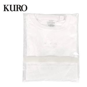 KURO クロ PACKED TENNESSE COTTON S/S TEE 半袖 カットソー 2枚入り テネシーコットン シンプル 無地 Tシャツ 963042 ホワイト up-avanti