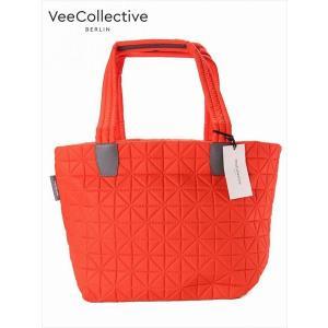 VeeCollective ヴィーコレクティブ 2WAYトートバッグ ナイロン 305 オレンジ ジップ付き 9VE101202 MEDIUM 国内正規品 up-avanti
