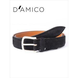 Andrea D'AMICO アンドレアダミコ CAMOX KALEIDO スエードベルト 999 ブラック / ACUB003 国内正規品|up-avanti