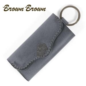 BrownBrown ブラウンブラウン Mr.Brown キーホルダー キーケース 本革 ワックスレザー クリスマススペシャル ブラック bbl-20w1 up-avanti
