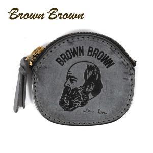 BrownBrown ブラウンブラウン Mr.Brown コインケース 小銭入れ 本革 ワックスレザー クリスマススペシャル ブラック bbl-20w2 up-avanti