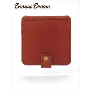 BrownBrown ブラウンブラウン レザー マネークリップ 札入れ 本革 BBL-674 オレンジ 国内正規品 up-avanti