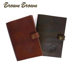 BrownBrown ブラウンブラウン Mr.Brown ノートカバー A5 レザー 本革 bbl-m17-a5 国内正規品|up-avanti