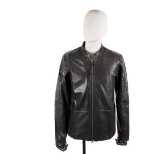 biography バイオグラフィ― ハンドコーティング ライダースジャケット BMFW1916 BLACK ブラック 国内正規品|up-avanti