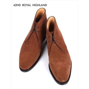 42ND ROYAL HIGHLAND フォーティーセカンドロイヤルハイランド デザートブーツ 2H スエード レザー 革靴 紳士靴 ブラウン CH4601S-13 国内正規品|up-avanti