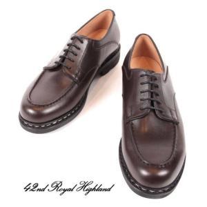 42ND ROYAL HIGHLAND EXPLORER フォーティーセカンドロイヤルハイランド エクスプローラーUチップ カーフ ドレスシューズ 革靴 CHN6401-21 ボルドー 国内正規品|up-avanti