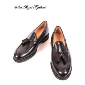 42ND ROYAL HIGHLAND EXPLORER フォーティーセカンドロイヤルハイランドエクスプローラー タッセルローファー 紳士靴 革靴 ビジネス CHN7002-11 ダークブラウン|up-avanti