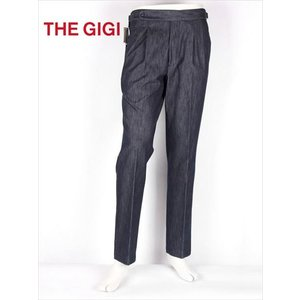 THE GIGI ザ・ジジ デニムテーパードパンツ スラックス ブラック CIAK H083 国内正規品 up-avanti