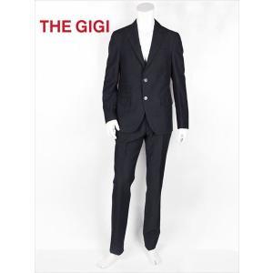 THE GIGI ザ・ジジ セットアップスーツ ブラック 薄手 リネンコットン GG181UADEGAS2ALPH213 国内正規品 up-avanti