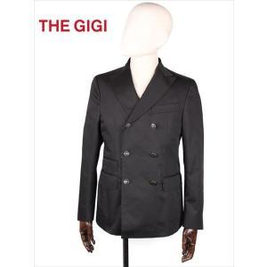 THE GIGI ザ・ジジ 6B ダブルブレスト テーラードジャケット ブラック MIRO DP H246 国内正規品 up-avanti