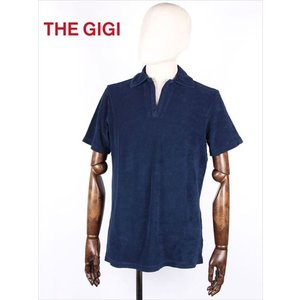 THE GIGI ザ・ジジ スキッパーポロシャツ ネイビー パイル THAITI TH820 国内正規品 up-avanti