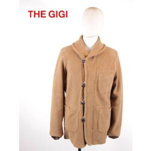 THE GIGI ザ・ジジ ショールカラージャケット ボア カジュアル オリジナル釦 GG192UABIRDL502 BEIGE ベージュ 国内正規品 up-avanti