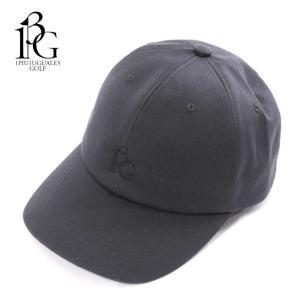 1PIU1UGUALE3 GOLF ウノピゥウノウグァーレトレ ゴルフ キャップ 帽子 メンズ ロゴ グレー 6パネル grg065-cot317 国内正規品|up-avanti