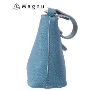 【国内正規品】 MAGNU マヌー MASCOT TeePee マスコットティーピー レザーキーケース KM-194-BLA ブルー|up-avanti