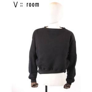 【国内正規品】【レディース】 20SS新作 V::ROOM(ヴィルーム)ロングスリーブプルオーバー LVR20S8004 BLACK ブラック vroom|up-avanti