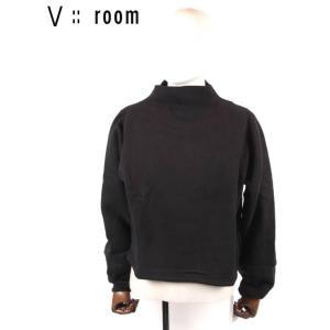 【国内正規品】【レディース】20SS新作  V::ROOM(ヴィルーム)ロングスリーブボトルネックプルオーバー LVR20S8005 BLACK ブラック vroom|up-avanti