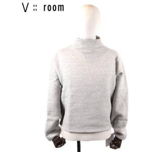 【国内正規品】【レディース】20SS新作 V::ROOM(ヴィルーム)ロングスリーブボトルネックプルオーバー LVR20S8005 GRAY グレー vroom|up-avanti