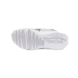 AKM エーケーエム gravis コラボスニーカー LUXE リュクス ファッションスニーカー レザー メッシュ 軽量素材 LXG002-LN01 ホワイト 国内正規品|up-avanti