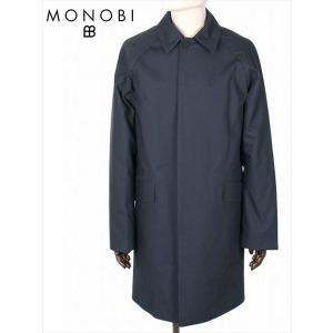 MONOBI モノビ コットン 中綿入り ステンカラーコート MMB19A4125 HYBRID DYLAN MAC ダークネイビー 国内正規品|up-avanti