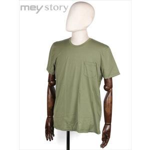 meystory マイストーリー クルーネック 半袖 Tシャツ カットソー オリーブ MS181UA46831 国内正規品|up-avanti