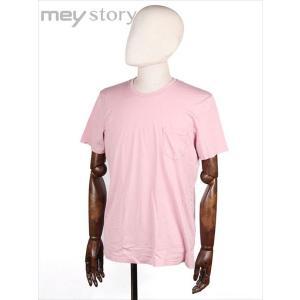 meystory マイストーリー クルーネック 半袖 Tシャツ カットソー ピンク MS181UA46831 国内正規品|up-avanti