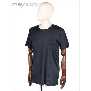 meystory マイストーリー クルーネック 半袖 Tシャツ カットソー ネイビー MS181UA47231 国内正規品|up-avanti