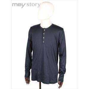 meystory マイストーリー ヘンリーネック 長袖 Tシャツ カットソー ネイビー MS181UA47264 国内正規品|up-avanti