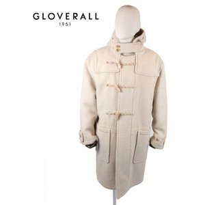 GLOVERALL グローバーオール ロングダッフルコート MS516552-ARM MONTY モンティ WHITE ホワイト 国内正規品|up-avanti