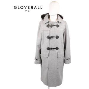 GLOVERALL グローバーオール ロングダッフルコート MS5263MM ELIZA DUFFLE エリザダッフル SILVER シルバー 国内正規品|up-avanti